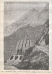 """Fig. 1. General View of the Automatic Aerial Cable on Mt. Jalla,"" in ""The Cements of the Gate of France,"" ""Scientific American Supplement,"" Nov. 28, 1885"