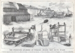 "Picture from ""The Freestone Quarries of Pyrmont, Sydney, New South Wales,"" Australia, ""Scientific American Supplement 427, Mar. 8, 1884"
