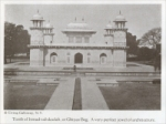 "Tomb of Itmad-ud-daulah, or Ghiyas Beg. A very perfect jewel of architecture. in India (""Through the Ages"" magazine, May 1923)"