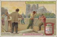 The Paving, Italian trade card (front)
