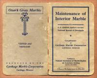 Maintenance of Interior Marble, Carthage Marble Corp., Carthage, Missouri