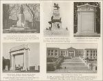 Samples of memorials constructed from Stone Mountain Granite (1920s)