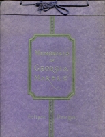 "Front cover of ""Memorials in Georgia Marble – Eclipse Designs"" Georgia Marble Company, Tate, Georgia – circa 1920"