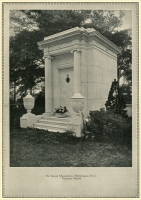 """The Kenan Mausoleum, Wilmington, North Carolina. Vermont marble. (from ""The Memory Stone 1768-1926,"" Vermont Marble Co., Proctor, Vermont)"